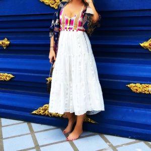 Saylor NY Embroidered Boho Dress